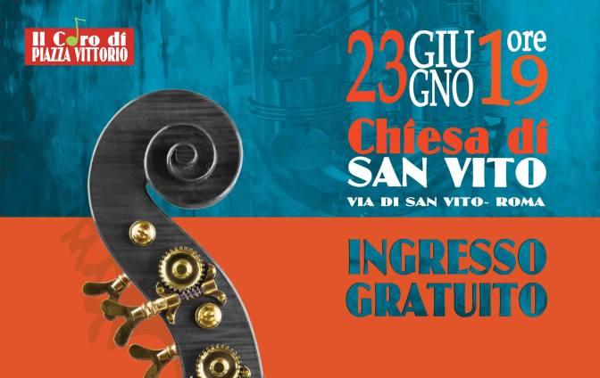 23 giugno 2017 il Coro di Piazza Vittorio a San Vito