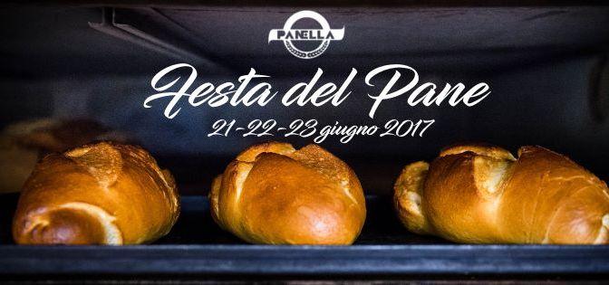 21-22-23 giugno 2017 Festa del Pane presso Panella