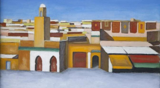 """19 – 24 giugno mostra """"dall'Esquilino, rione multietnico, un piccolo viaggio nel sud del Marocco"""" presso Wineart"""