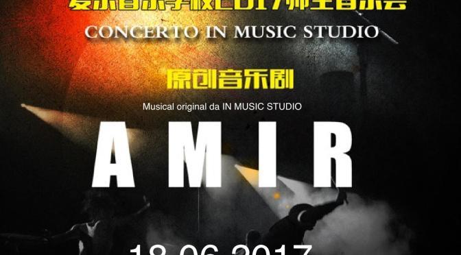 """18 giugno 2017 """"Amir"""" il musical realizzato dalla scuola di musica """"In Music"""""""
