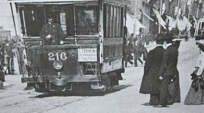 Le sorprese del passato: la rete tranviaria creata a Roma per l'Esposizione Universale del 1911