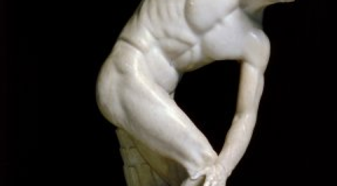 Palazzo Massimo: il Discobolo Lancellotti come non l'avete mai visto!