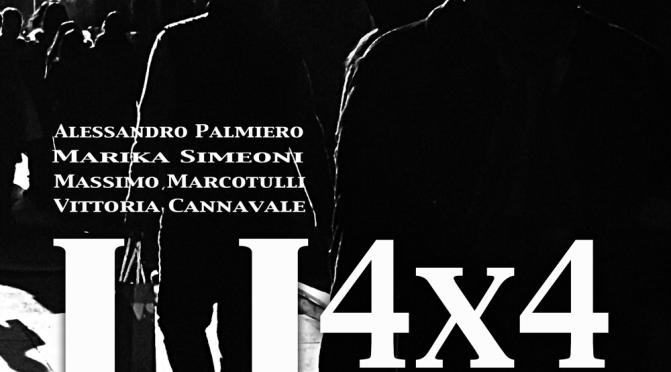 """9 – 23 giugno """"4×4 Urban"""" allo Studio Medina Roma Arte"""