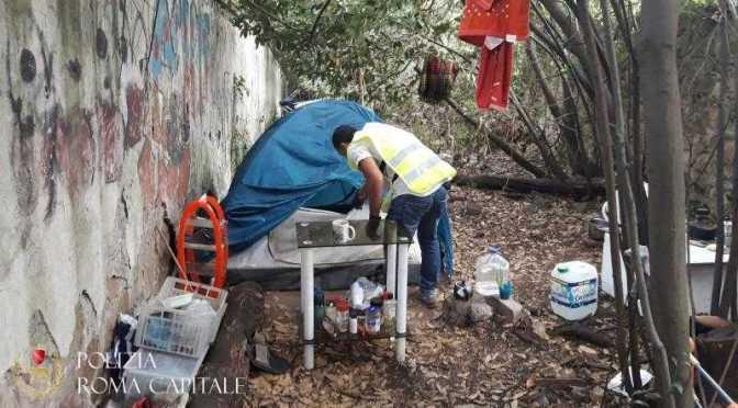 Polizia Locale, continuano le attività di bonifica degli insediamenti abusivi