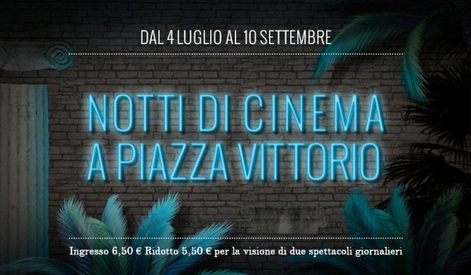30 agosto 2017: il programma odierno di Notti di Cinema a Piazza Vittorio