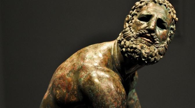 """La statua del """"Pugilatore in riposo"""": cronaca del suo ritrovamento"""