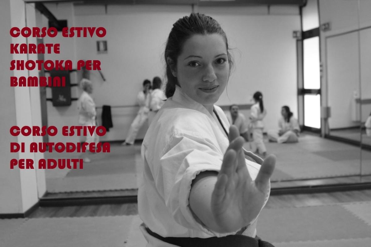 Corso estivo autodifesa e karate presso l'Associazione Culturale Music In
