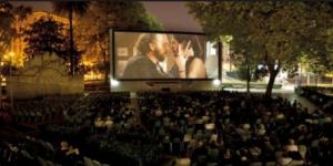 Outdoor cinema at Piazza Vittorio – Rome