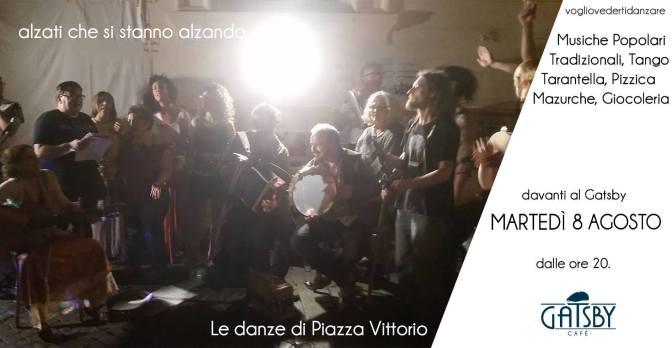"""8 agosto 2017 """"Le Danze all'improvviso!"""" al Gatsby Cafè"""