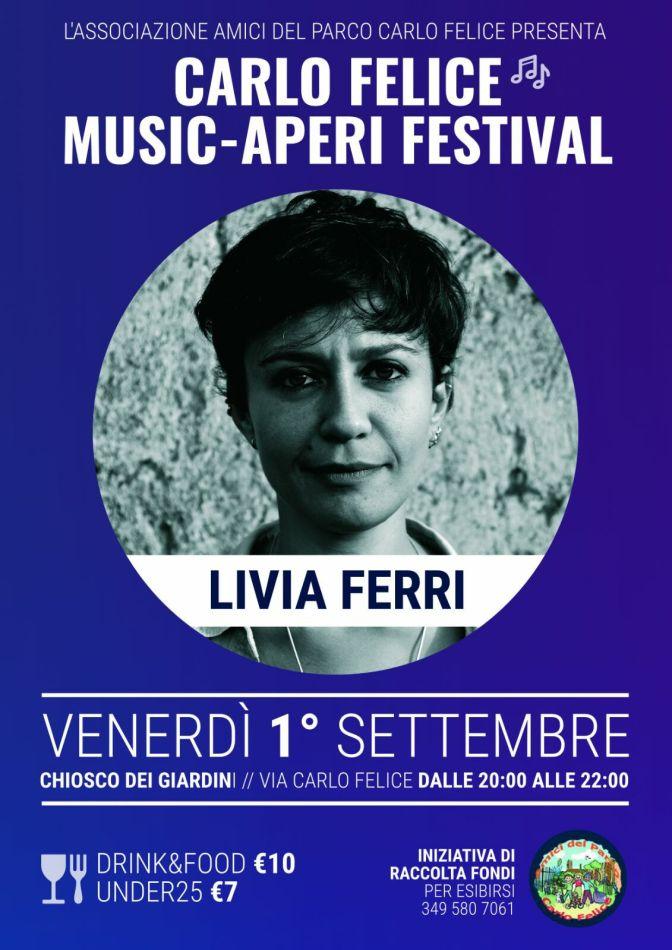 1 settembre 2017 Livia Ferri al Carlo Felice Music-Aperi Festival