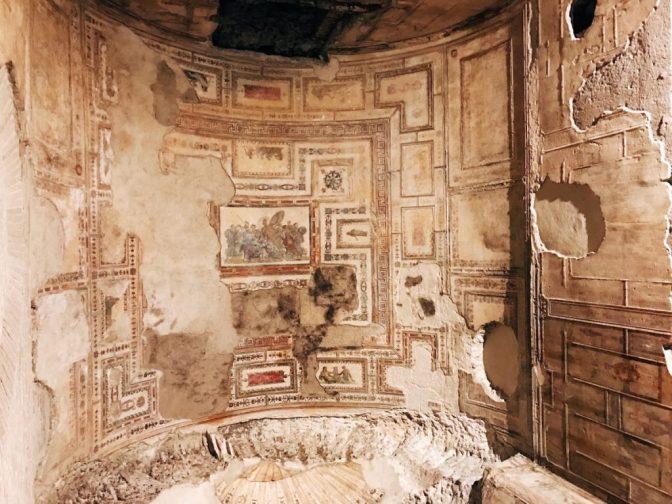 La Sala di Achille a Sciro nella Domus Aurea come non l'avete mai vista