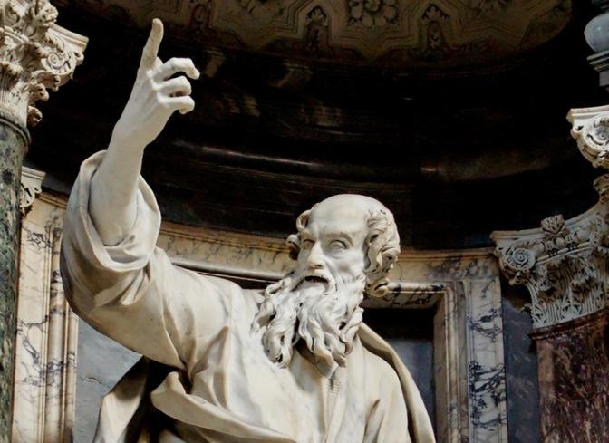 La statua di San Tommaso nella Basilica di San Giovanni come non l'avete mai vista