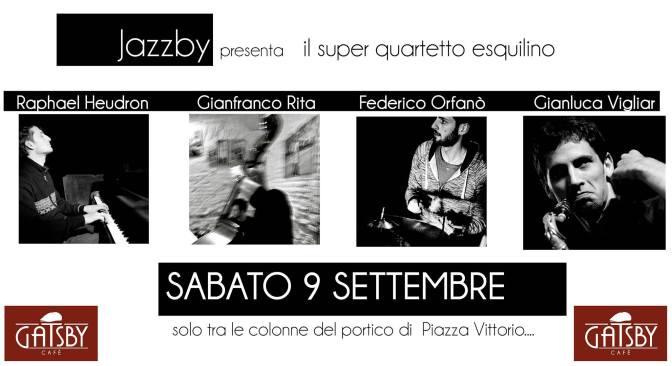 9 settembre 2017 – Jazzby – Jam session sotto il portico