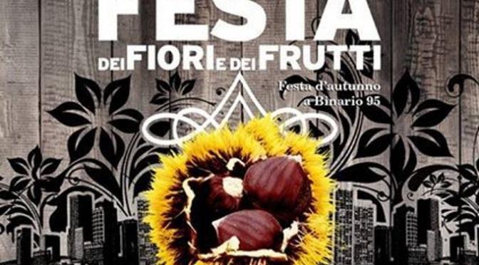 """22 settembre 2017 """"Festa dei Fiori e dei Frutti"""" con Binario95 e i Centri Anziani del I Municipio"""