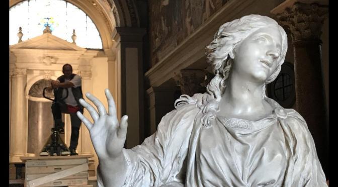 Un restauro innovativo per la statua di Santa Bibiana di G.L. Bernini