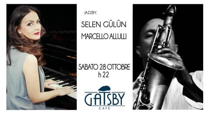 28 ottobre 2017 Selen Gulun & Marcello Allulli al Gatsby CAfè