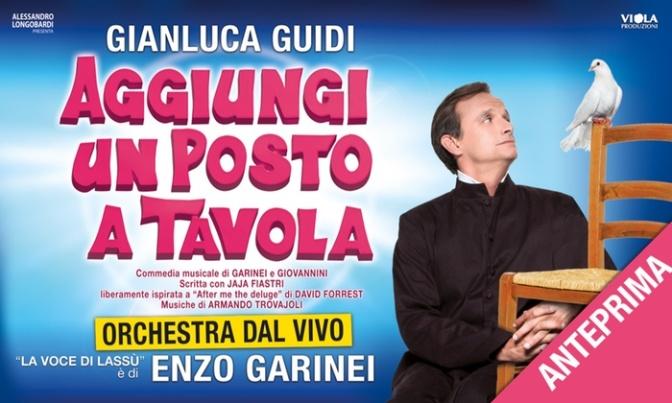 """12 ottobre – 26 novembre 2017 """"Aggiungi un posto a tavola"""" al Teatro Brancaccio"""