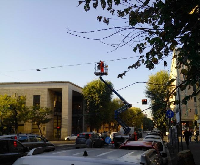E fu luce…. anche a viale Manzoni!