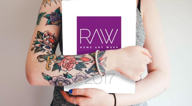 9 -14 ottobre 2017 RAW – Rome Art Week 2017 – Gli eventi nel Rione Esquilino