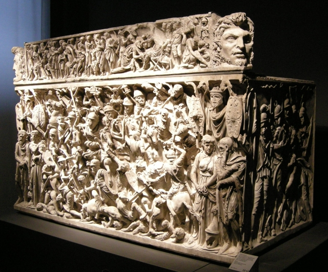 """Palazzo Massimo : Il """"Sarcofago di Portonaccio"""" come non l'avete mai visto"""