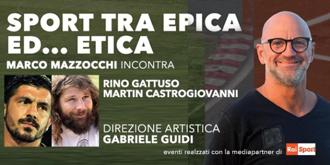 """30 ottobre 2017 """"Sport tra Epica ed… Epica"""" al Teatro Brancaccio"""