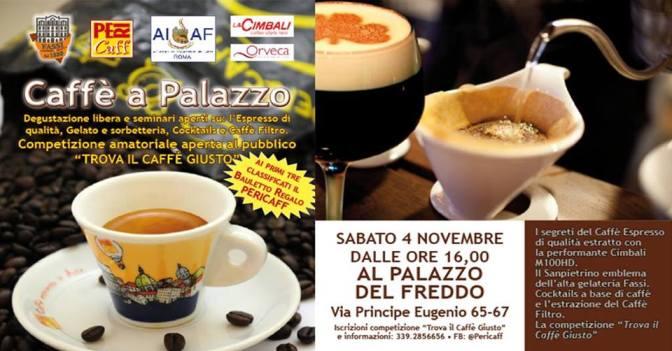 """4 novembre 2017 """"Caffè a Palazzo"""" presso il Palazzo del Freddo – Gelateria Fassi"""