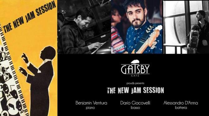 """11 novembre 2017 """"The New Jam Session di Alessandro D'Anna"""" al Gatsby Cafè"""