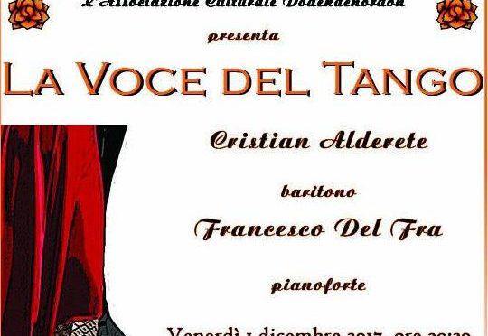 """1 dicembre 2017 """"La Voce del Tango"""" presso la Gelateria Fassi – Palazzo del Freddo"""
