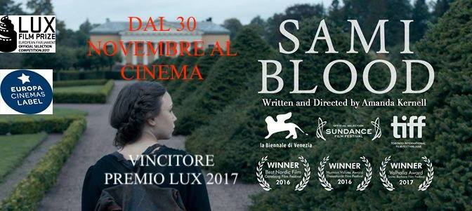 "30 novembre 2017 ""Sami Blood"" all'Apollo 11"