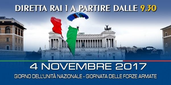 4 novembre 2017 Giorno dell'Unità Nazionale e Giornata delle Forze Armate. Le iniziative a Roma