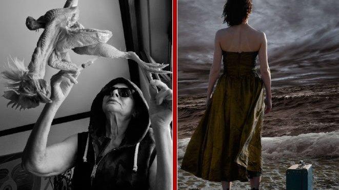 """3 – 9 novembre 2017 """"Sputo"""" ibrido fotografico e """"Humana Dea"""" di Giuseppe Lo Cascio presso lo Studio Medina"""