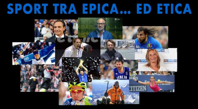 """20 novembre 2017 """"Sport tra Epica ed …Etica"""" al Teatro Brancaccio"""