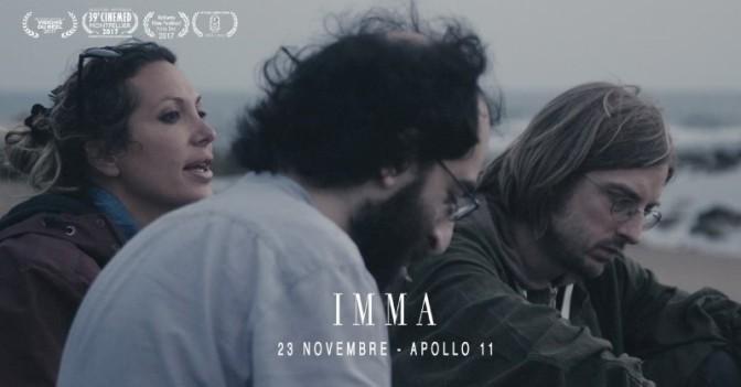 """23 novembre 2017 """"Imma"""" all'Apollo 11"""