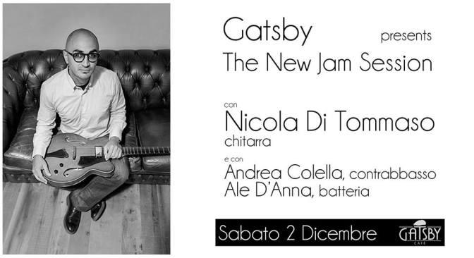 "2 dicembre 2017 ""The New Jam Session – Improvvisazione Jazz"" al Gatsby Cafè"