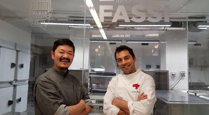 17 dicembre 2017 Andrea Fassi & Chef Hiro: showcooking con auguri di Natale al Palazzo del Freddo