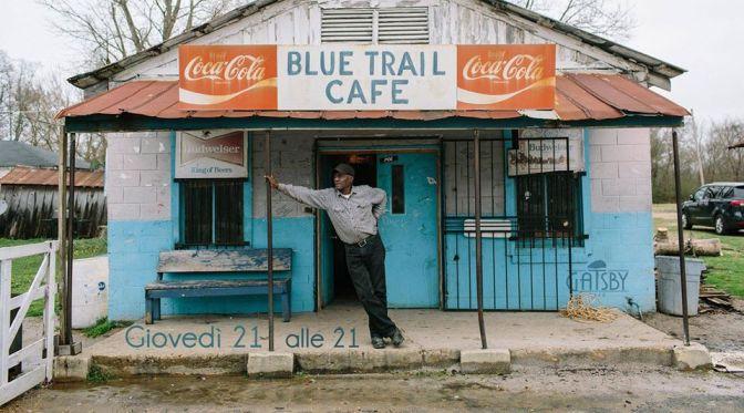 """4 gennaio 2018 """"Blues Trail – Delta & Chicago Blues"""" al Gatsby Cafè"""