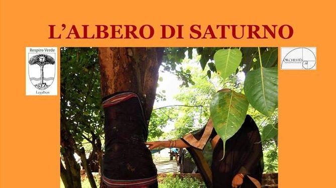 """16 dicembre 2017 """"L'Albero di Saturno""""presso il giardino del Coris"""