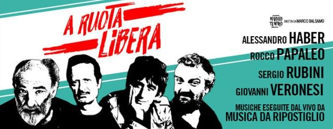 """Dal 27 dicembre 2017 al 7 gennaio 2018 """"A Ruota Libera"""" al Teatro Ambra Jovinelli"""