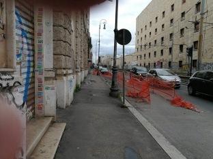 Ex Cinema Apollo recinzione ormai inesistente