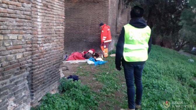 La Polizia Locale continua a sgomberare aree verdi e siti archeologici occupati