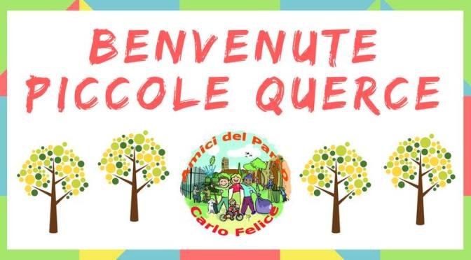 "27 gennaio 2018 ""Benvenute Piccole Querce"" al Parco di Viale Carlo Felice"