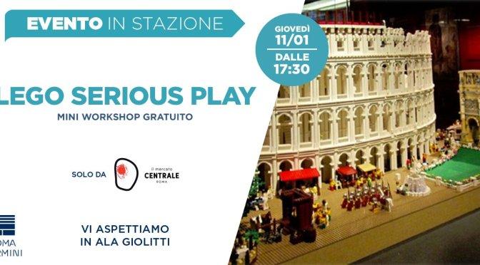 """11 gennaio 2018 – """"Lego Serious Play – La Roma che vorrei"""" al Mercato Centrale"""