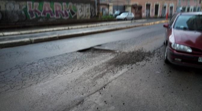 Gennaio 2018, SOS strade dell'Esquilino