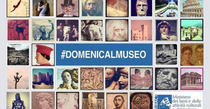 2 settembre 2018 #DOMENICALMUSEO Musei gratis per tutti