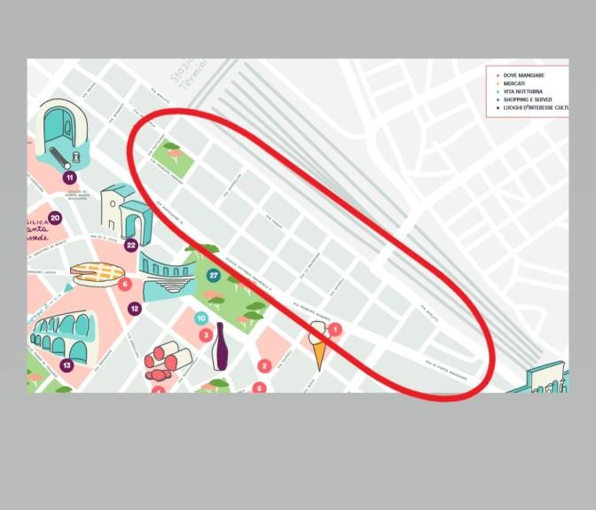 Le dimenticanze (volute?) di Airbnb nel Rione Esquilino