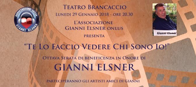 """29 gennaio 2018 """"Te lo faccio vedere chi sono io"""" al Teatro Brancaccio"""