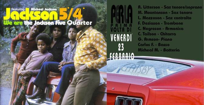 "23 febbraio 2018 ""5° 4° – Live from the Ghetto"" al Gatsby Cafè"
