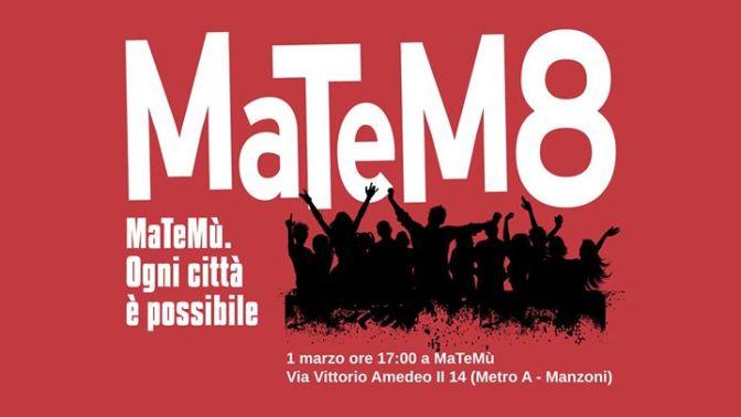 """1 Marzo 2018 """"Matem8"""" Matemù compie 8 anni"""