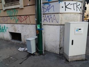 Fig. 1: Via Principe Umberto angolo via Bixio