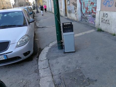 Fig 4: Via Giolitti altezza Santa Bibiana